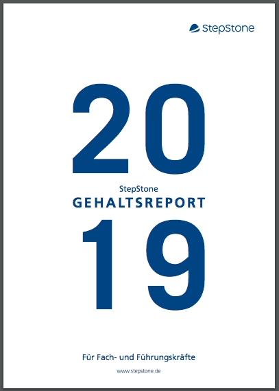 Stepstone Gehaltsreport 2019