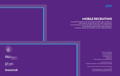 Mobile First in der Bewerbung? Noch nicht ganz